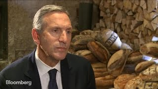 Starbucks CEO Howard Schultz Says Company Is 'Open Book'