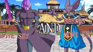 Hit & Beerus's Move Set [] Roblox [] Dragon Ball Z Final Stand []