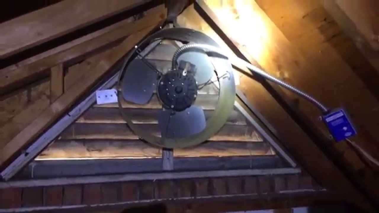 Incorrect Gable Fan Installation What Not To Do Youtube