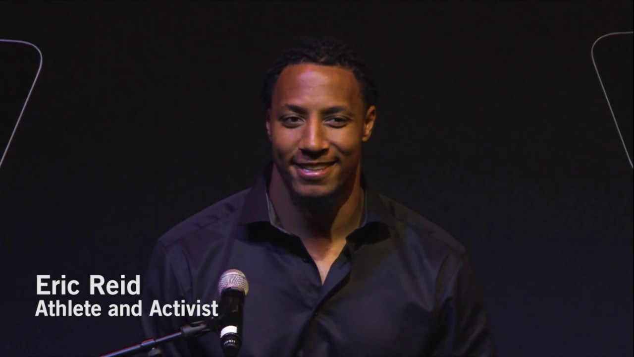 Eric Reid intros Colin Kaepernick for Amnesty's Ambassador of Conscience Award (full speech)