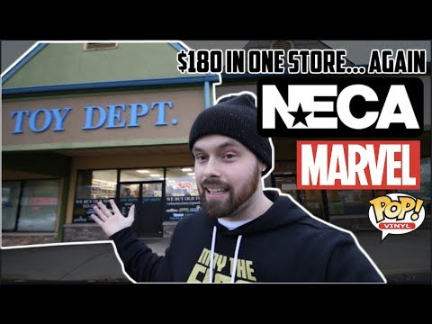 TOY HUNTING AT THE TOY DEPARTMENT! LEXINGTON ROAD TRIP! MARVEL LEGENDS, FUNKO POPS AND MORE!