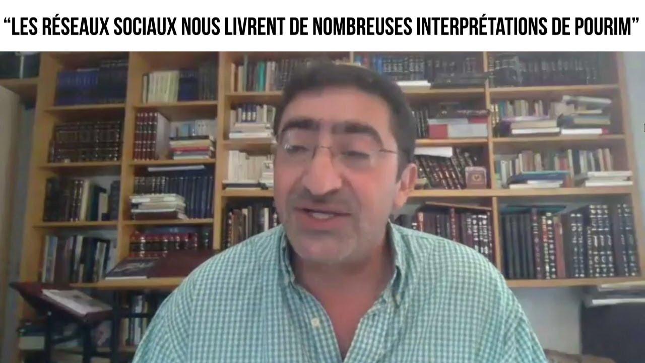 """""""Les réseaux sociaux nous livrent de nombreuses interprétations de Pourim"""" - L'invité du 25.02"""