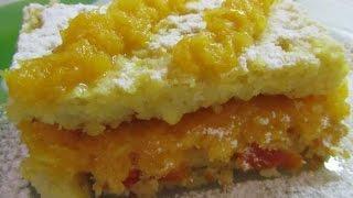 Пирожное Солнечное из кукурузных хлопьев  Украинская кухня