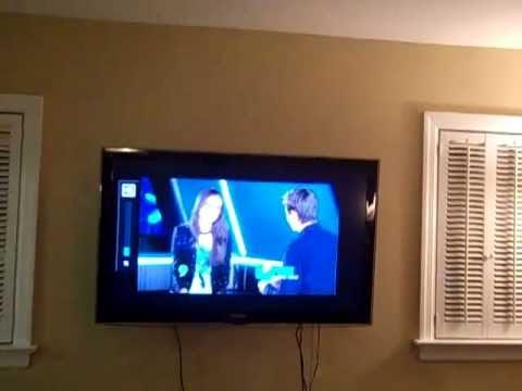 LCD Wall-Mount TV Installation - Highland Falls, NY - Orange County ...