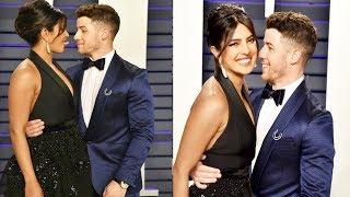 Priyanka Chopra And Nick Jonas CUTE Moments In Oscar Awards 2019 | FWF