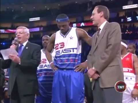 2006 All Star McGrady 36 pts VS James 29 pts (LBJ MVP)