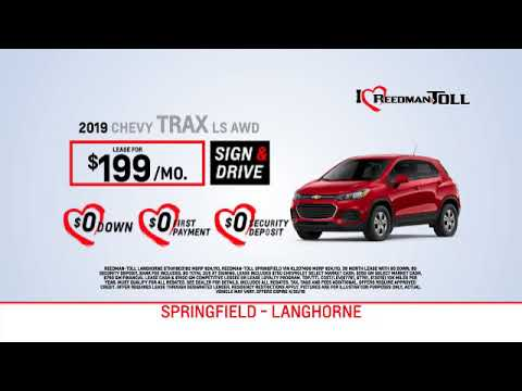 Reedman Toll Auto Group Chevrolet April Lease Specials