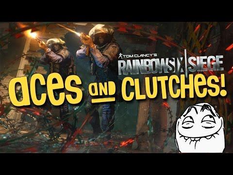 Rainbow Six Siege - Aces & Clutches!
