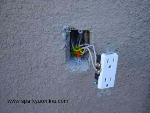 Electrical Wiring No ground tails - YouTube