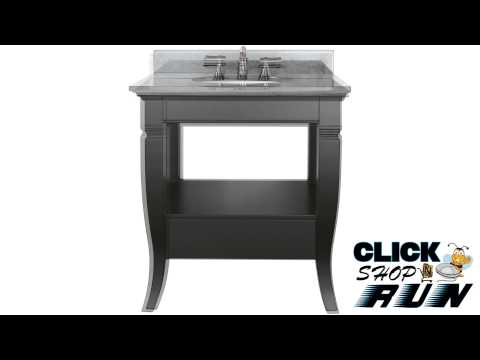 Avanity Milano Bathroom Vanity Set Video Review -- Clickshopnrun.com