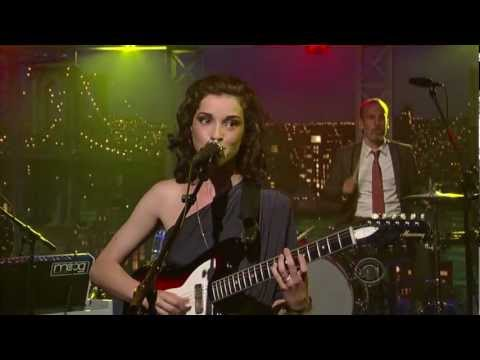 St Vincent - Cruel on Letterman 8-29-11