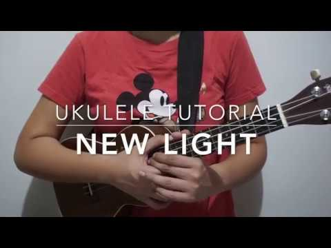 New Light (John Mayer) - Ukulele Tutorial