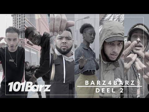 Vlekkeloos, Shock Elias, Djahboy, Ella John, Dani & Kaascouse (Prod. OG Vibez) - Barz 4 Barz