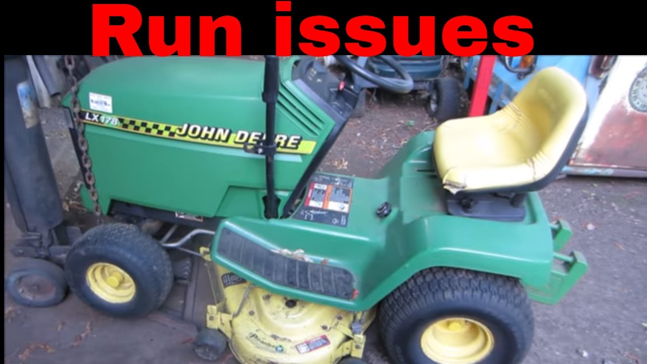 hight resolution of yard sale john deere part 2 engine flooding repair