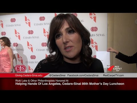 Ricki Lake Honored At Helping Hand Los Angeles, Cedars-Sinai Mother's Day Luncheon