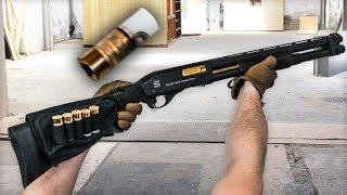 20 BBs per shot - $500 Airsoft shotgun