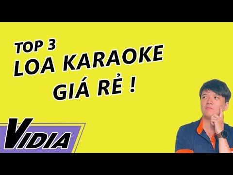 Top 3 Loa Karaoke Dưới 5 Triệu Đáng Mua Nhất