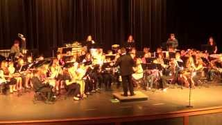 Farmington Middle School 7th Grade Band: Three Faces of Kilimanjaro by Robert W. Smith