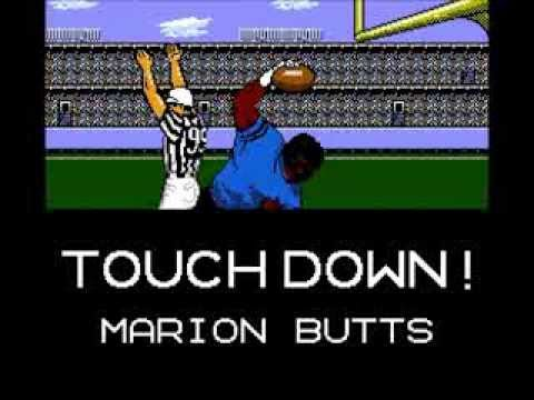 Image result for marion butts tecmo super bowl