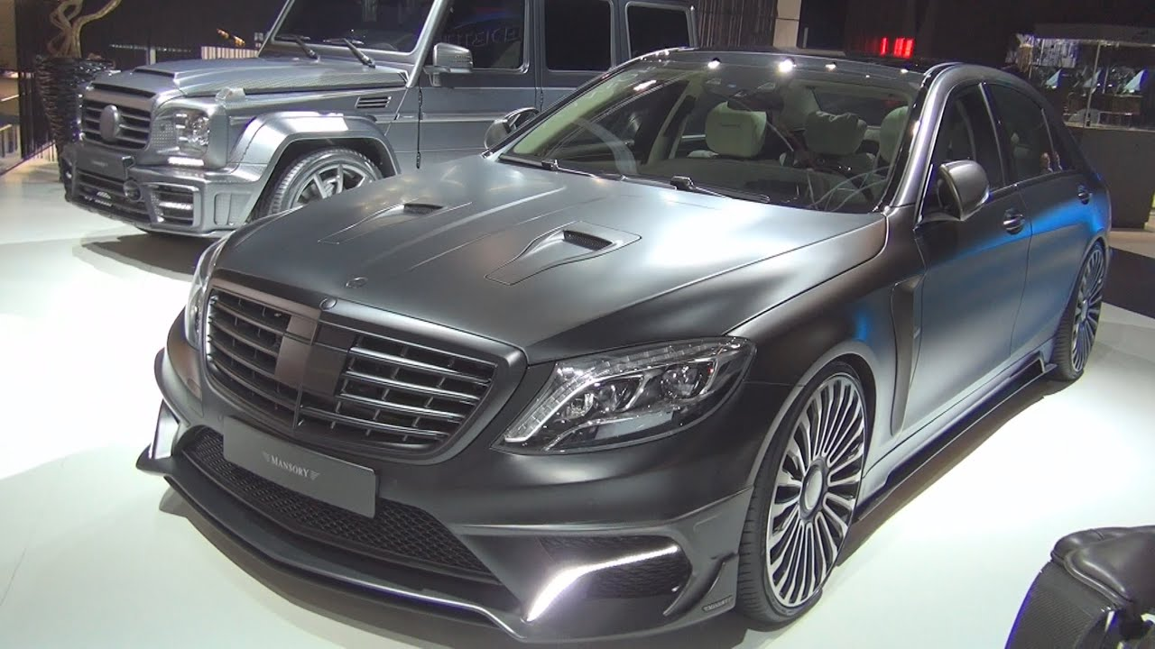 mercedes benz s class limousine amg s63 mansory black edition 2016 exterior and interior in 3d. Black Bedroom Furniture Sets. Home Design Ideas