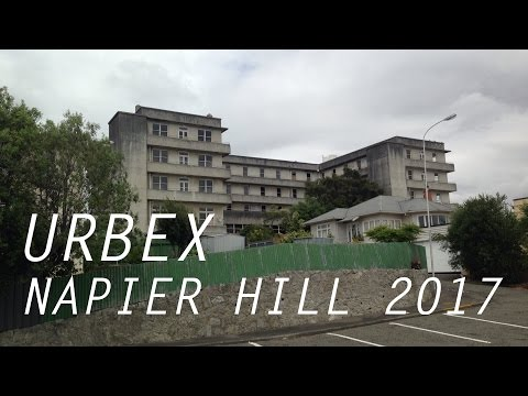 Almost Caught: Abandoned Hospital Napier NZ