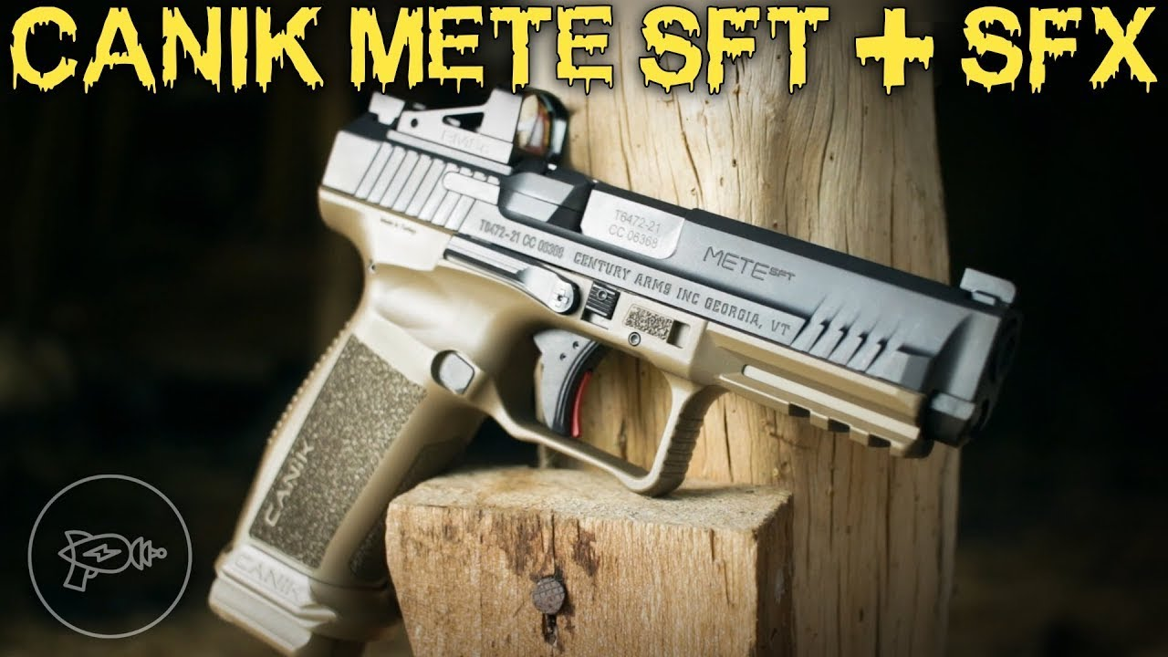 Two More Striker-Fired Contenders: Canik METE SFT & SFX! [Review]