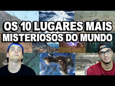 OS 10 LUGARES MAIS MISTERIOSOS DO MUNDO