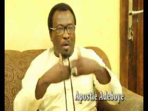 General Superintendent Apostle  S. Adeboye Ajakaiye