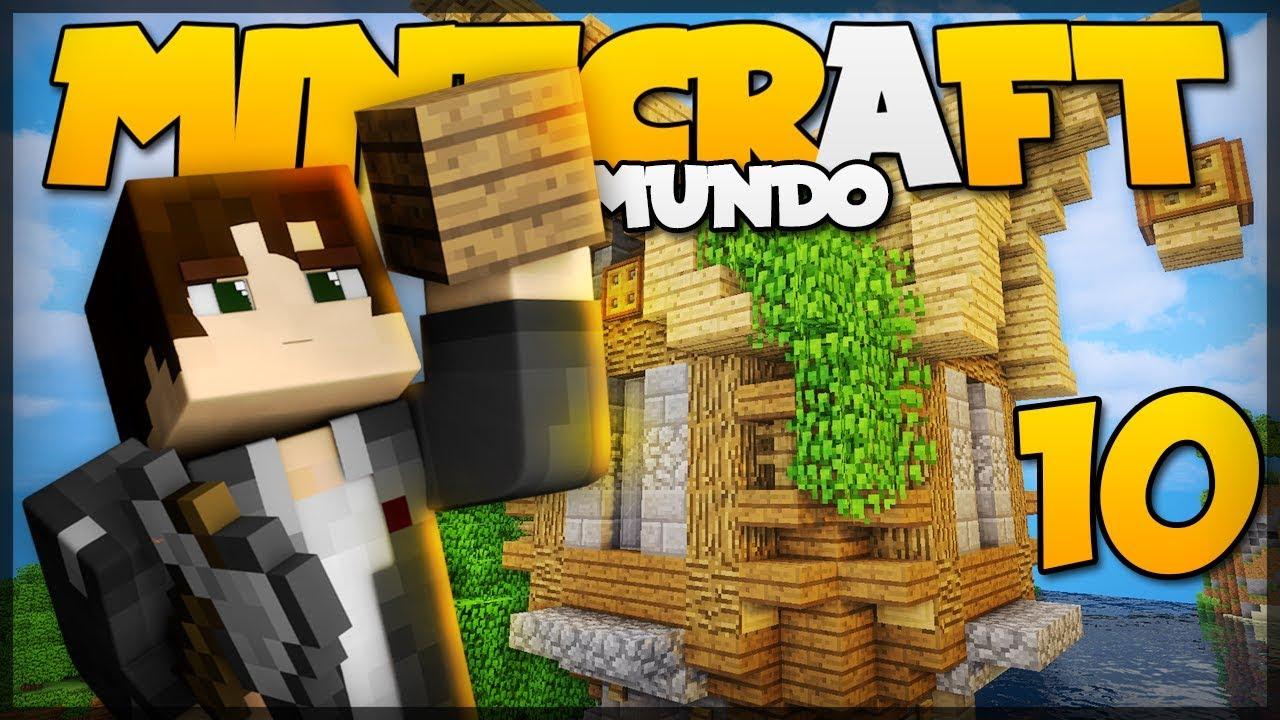 O Meu Mundo Se Transforma: O INÍCIO DA VILA MEDIEVAL! // Meu Mundo #10 // Minecraft
