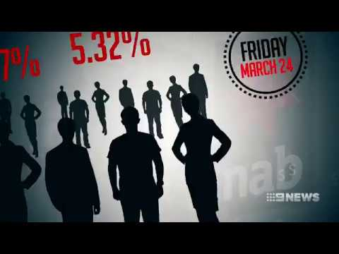 9News: Unemployment and interest rate rise