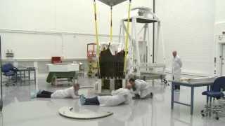 BRRISON telescope cradle exchange (time lapse)