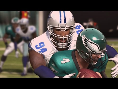 DEMARCUS WARE THROUGH THE YEARS - NCAA FOOTBALL 03 - MADDEN 17