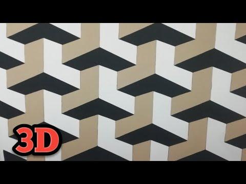 3d Wall Painting | 3d Wall Texture Design | 3d Wall Decoration Effect | Interior Design