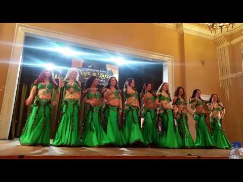 Doviles Oriental Dance Group (Lithuania, Kaunas), Artem Uzunov - I wanna dance. 2016.