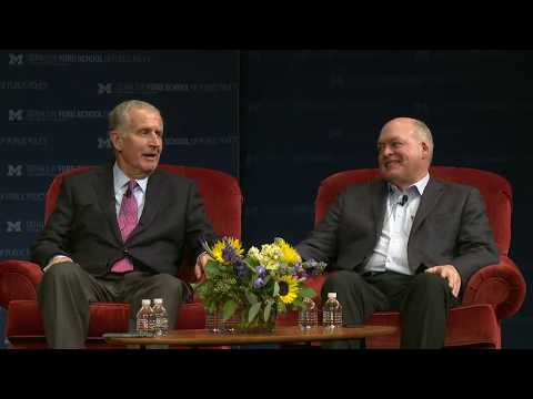 .@fordschool - Paul Tagliabue and Jim Hackett: At the intersection of sports and social policy