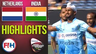 Netherlands v India | 2018 Men's Hockey Champions Trophy | HIGHLIGHTS