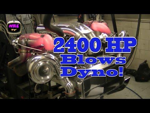 2400 HP BBC destroys dyno!  Nelson Racing Engines.  NRE TV Episode 222.  Tom Nelson