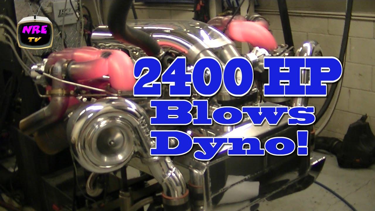 2400 Hp Bbc Destroys Dyno Nelson Racing Engines Nre Tv