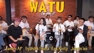 Watu - Syahiba Saufa, Esa Risty, James AP. Justin Liee | Ska Koplo (Official Music Video)
