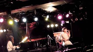 渋谷La.mama 2012.2.8. vo.ひだけいこ pf.諏訪百合香 per.山口陽輔 シン...