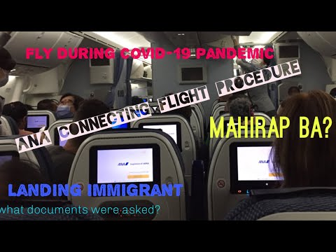 International Connecting Flight During Covid-19 Pandemic Via ANA // Manila-Haneda-Vancouver