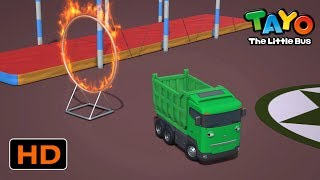 Tayo English Episodes l Strong Heavy Vehicles with fire circus! l Tayo Episode Club