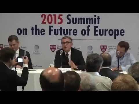 Harvard Conversation - Vuk Jeremic and Niall Ferguson | Global Implications of Europe in Crisis