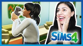I ADOPTED A NEW PUPPY & SHE POOPED IN THE HOUSE! - The Sims 4 - My Life - Ep 6