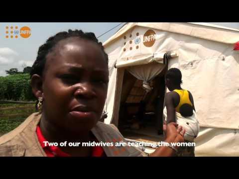 L'UNFPA et la Dignité des Femmes en Situation d'Urgence
