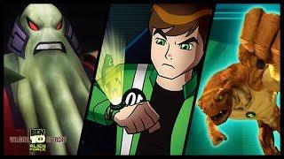 Ben 10 Alien Force: Vilgax Attacks Walkthrough Part 1 (X360, Wii, PS2, PSP) 100% Level 1 - Bellwood