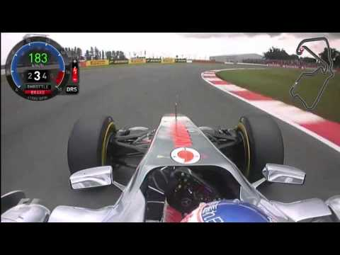 Formula 1 - British Grand Prix - 2011 - Silverstone Circuit - Jenson Button's onboard lap
