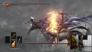 Beating Dark Souls III Bosses with Feet Playing Part 7