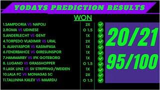 Football Predictions Today 24/09/2021 | Soccer Predictions | football predictions #footballnixx screenshot 1