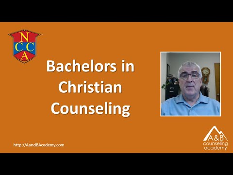 Bachelors Degree in Christian Counseling